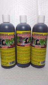 3-BOTTLES-SHAMPOO-CACAHUANANCHE-DEL-INDIO-PAPAGO-LICANEA-ARBOREA-EXTRACT-16-9-F
