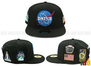 D9 DNine Reserve Nasa Hip hop Kayne west Leather Snapback Adjustable ... 30fcfab9c2e