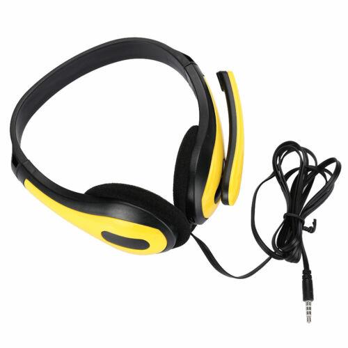 5F28 Stereo  Headset  Mit Mic  3.5mm  Headset  Kopfhörer  Über Ohr