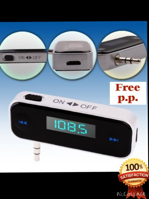 Car wireless MP3 FM radio transmitter+HANDS FREE for Mobile......200 plus sold