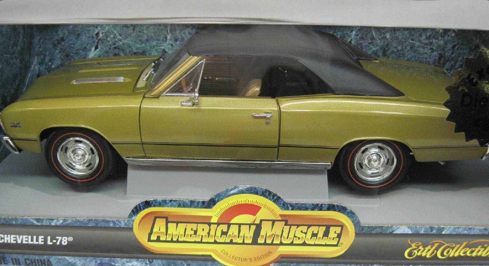 1 18 1967 Chevelle SS396, guld