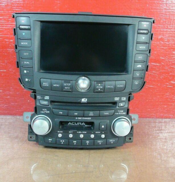 2004-2006 Acura TL Radio & Navigation Screen 6 CD Player