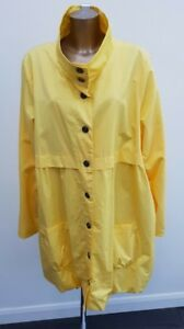 Anna-Scholz-Simply-Be-Yellow-Mac-Trench-Spring-Lightweight-Parka-Coat-Size-28