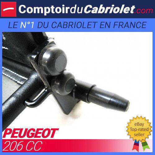 TUV Filet anti-remous saute-vent windschott Peugeot 206 cc cabriolet