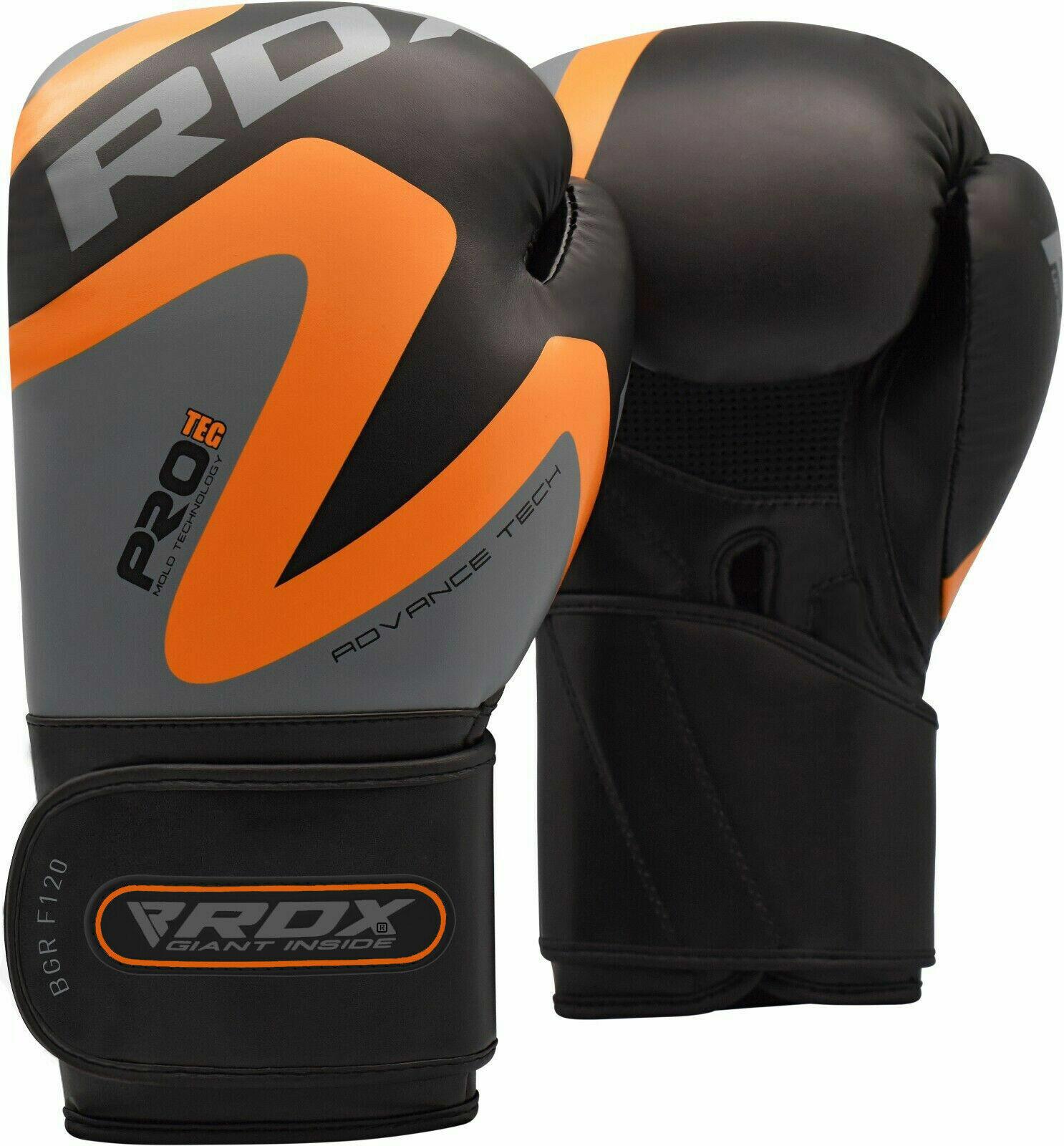 RDX 12 onzas de guantes de boxeo, boxeo tailandés, f12 os.