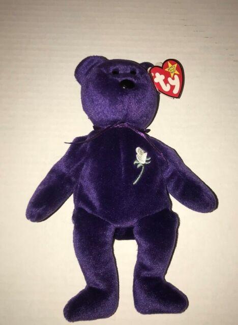2214c4062fe Rare 1997 Ty Princess Diana Beanie Baby Handmade in China Mint P.E. Pellets