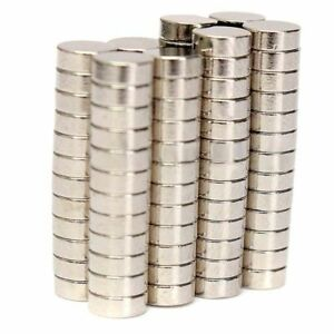 100-Stk-Starke-Neodym-Magnete-N52-5x2mm-Rund-Magnet-Pinnwand-Kuehlschrank-Buero