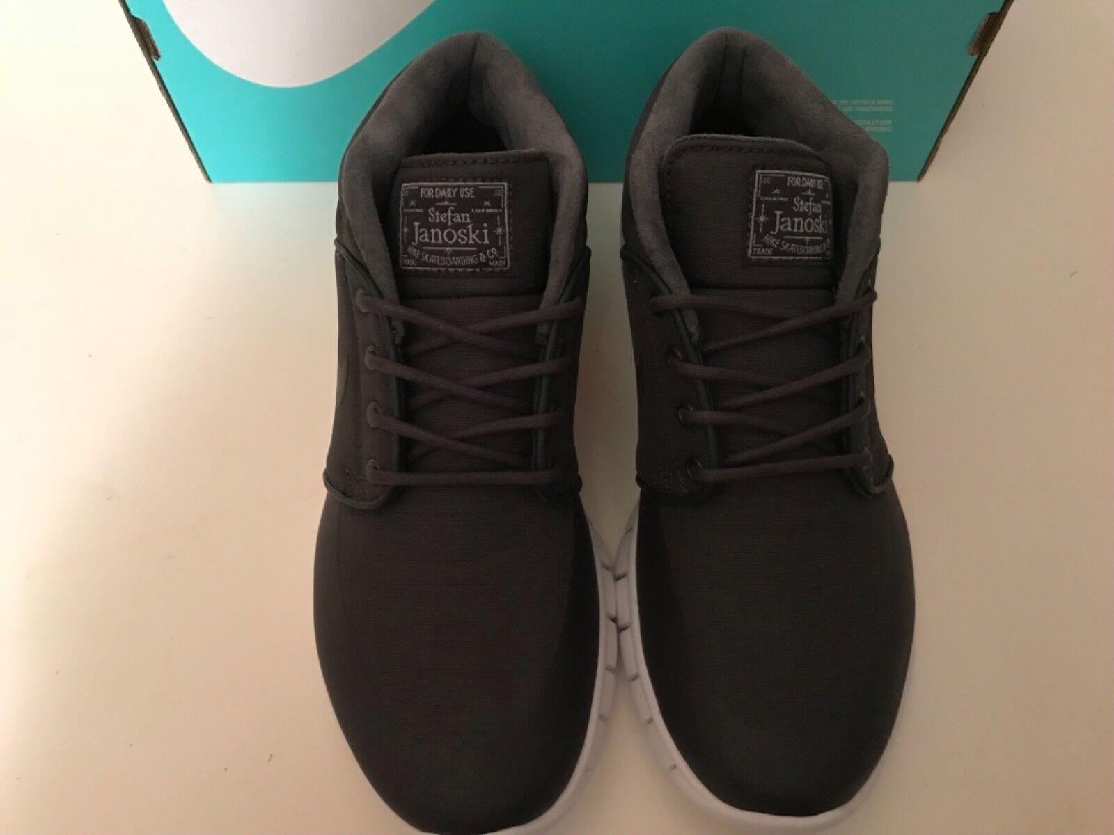 Men's Nike Stefan Janoski Max Mid Sneaker 807507-002 Size 6