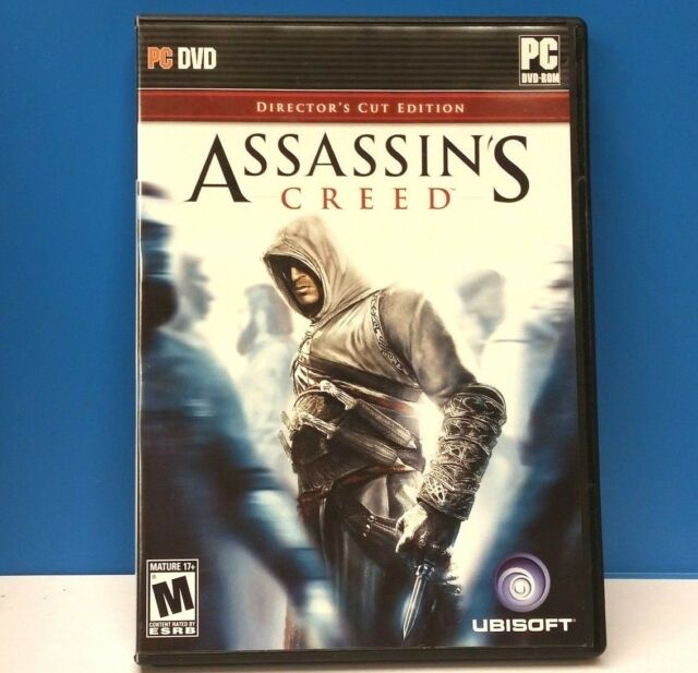 Assassin's Creed: Director's Cut Edition (PC, 2008)(COMPLETE)(VG CONDITION)