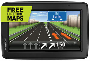 TomTom-Start-25-M-EU-XXL-GPS-Europa-45-Navi-3D-Map-FREE-Lifetime-Maps-Tap-amp-Go-WOW