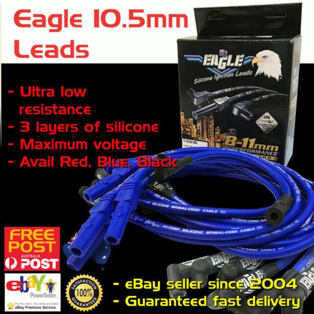 EAGLE 10.5mm Ignition Spark Plug Leads Fits V8 Ford Big Block 429 460 HEI