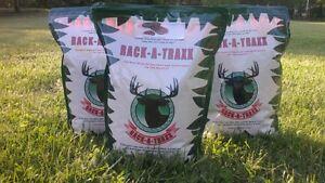 "( 2 Bags).....""Deer Mineral Lick"".....Persimmon or Sugar Beet.....""Rack-A-Traxx"""