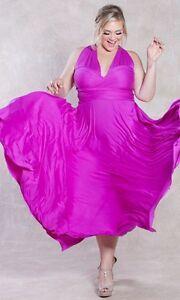 SWAK-Designs-Sexy-Eternity-Wrap-Maxi-Party-Cruise-Dress-Posh-Plum-Pink-or-Aqua