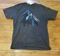 Men's Batman Charcoal Macy's S/s Graphic Tee Size Large L