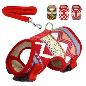 Mesh-Padded-Small-Dog-Harness-Lead-Adjustable-Vest-for-Pet-Puppy-Chihuahua-Pug