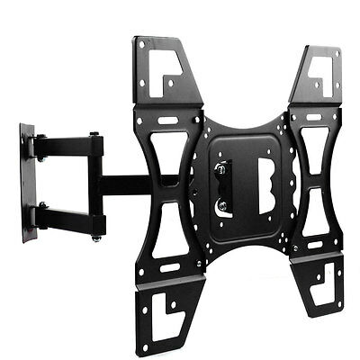Full Motion TV Wall Mount Tilt Swivel Bracket 22 32 37 42 50 55 60 Flat LED LCD