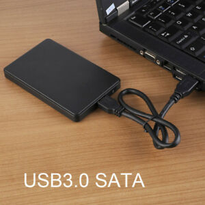 Hard-Drive-Enclosure-Case-2TB-USB-3-0-to-SATA-2-5-034-for-7mm-Seagate-WD-HDD-SSD