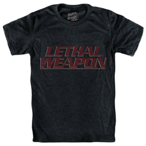 Richard Donner LETHAL WEAPON T-shirt Arma Letale Martin Riggs Mel Gibson
