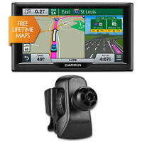 Garmin Nuvi 67lm 6 Essential Series 2015 Gps System W Lifetime Maps Vent Bundle on sale