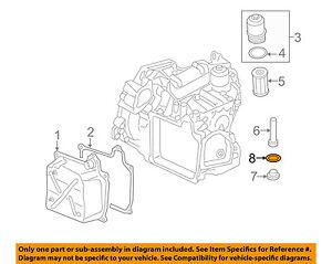 Details about VW VOLKSWAGEN OEM 11-18 Jetta Transaxle Parts-Drain Plug on
