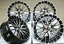 "19"" CRUIZE 170 BLACK & POLISHED CONCAVE ALLOY WHEELS 5X108 19 INCH ALLOYS"