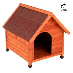 Caseta de madera Spike Torúl Premium Classic para Mascotas Perros