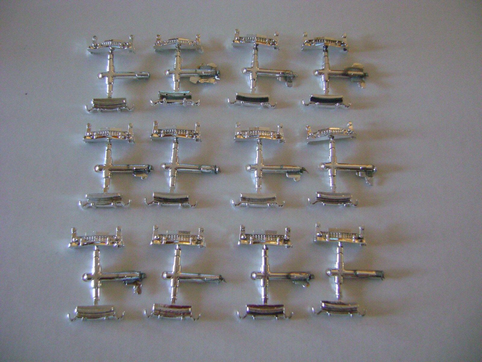 Lionel 6414 Chrome Bumpers (front & rear 12- sets)
