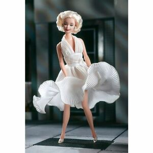 Znalezione obrazy dla zapytania Barbie® as Marilyn™ in the White Dress from The Seven Year Itch™