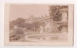 Vintage-CDV-Sanssouci-summer-palace-Frederick-the-Great-Prussia-Potsdam-Germany