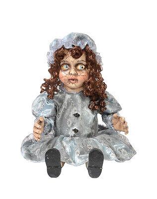 Decrepitrudy Animated Doll Decoration Halloween Animatronic Prop