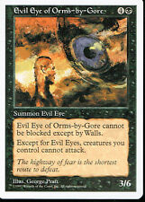 MAGIC THE GATHERING 5TH EDITION BLACK EVIL EYE OF ORMS
