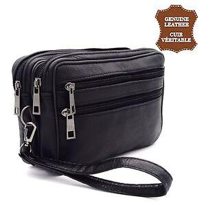 super quality buy popular coupon code Détails sur Sac sacoche pochette à main homme cuir de vachette Véritable  porte documents