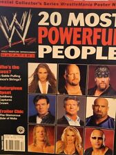 WWE Magazine December 2003 US WWF Wrestling + Wrestlemania 6 Rockers Poster
