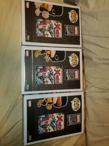 xmen pop vinyl lot of 3 cyclops beast marvel girl new 502 503 505  x-men