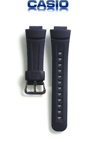 New Original Genuine Casio Wrist Watch Blue Strap Replacement Band for G-2900-2