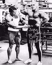 SUPERSTAR BILLY GRAHAM NWA WWF WWE SIGNED AUTOGRAPH 8X10 PHOTO #4 W/ PROOF