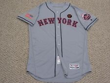 Blank back size 48 2018 New York Mets road July 4th game jersey MLB HOLOGRAM