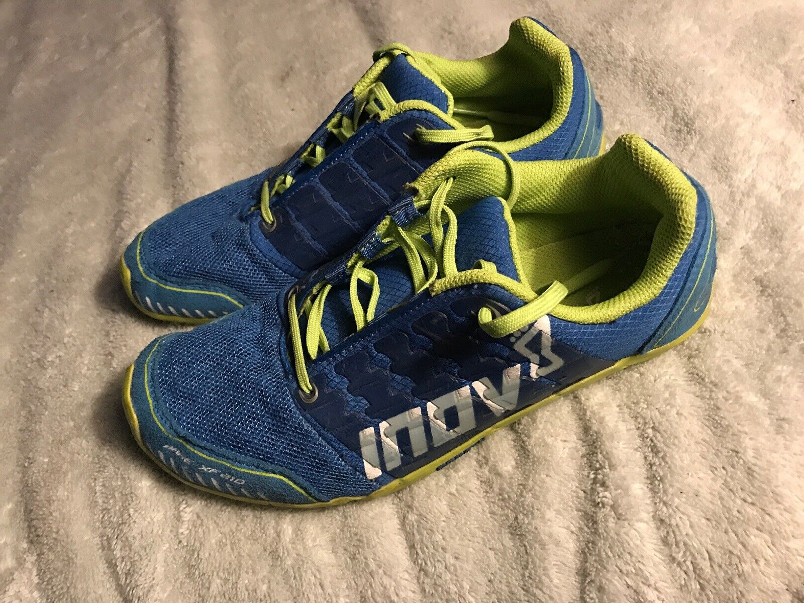 sports shoes 605b3 18874 Inov Unisex Shoes Bare-XF 210 Standard Standard Standard Fit Blue Green Size  6 Mens