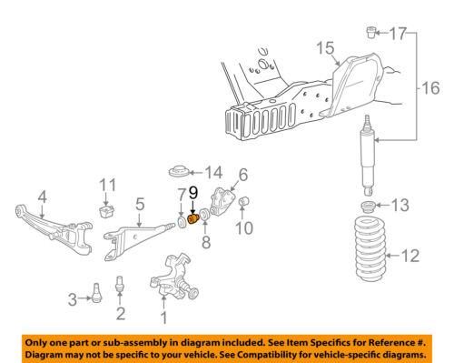 FORD OEM Front Suspension-Radius Arm Bushing C5TZ3B203E