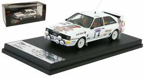 Trofeu Rruk08 'Top Gear' Rac Audi Quattro A1 1984 - Malcolm Wilson échelle 1/43