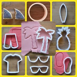 Summer-Palm-Tree-Cookie-Cutter-Biscuit-Dough-Fondant-Flip-Flop-Shark-Surfboard
