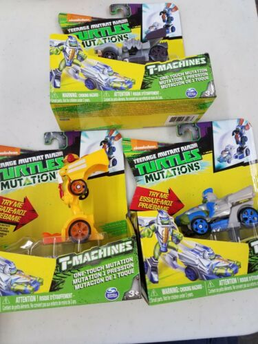 Nickelodeon Teenage Mutant Ninja Turtles T-Machines Mutations Lot