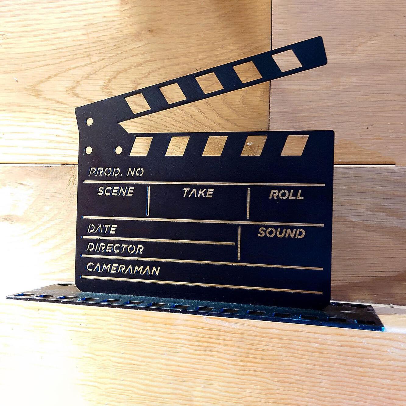 Classic Movies Film Clapper Board Ornament Hollywood Ornament Indoor Cut Scene