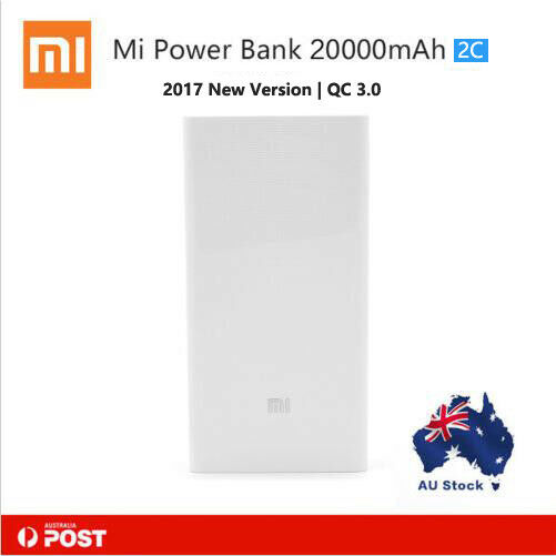 Xiaomi 20000mAh Power Bank with QC3.0 Portable Charger Dual USB Quick Charge 3.0