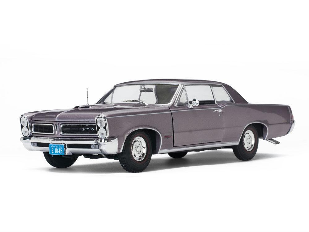 1965 Pontiac GTO Purple 1 18 SunStar 1845