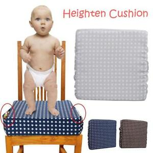 Adjustable Detachable Child Booster Seat Cushion Kids Dining Chair