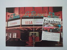 advertising Pubblicità 1983 CITROEN VISA GT