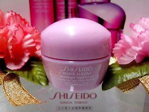 SALE-Shiseido-White-Lucent-MultiBright-Night-Cream-10ML-NEW-034-POST-FREE-034