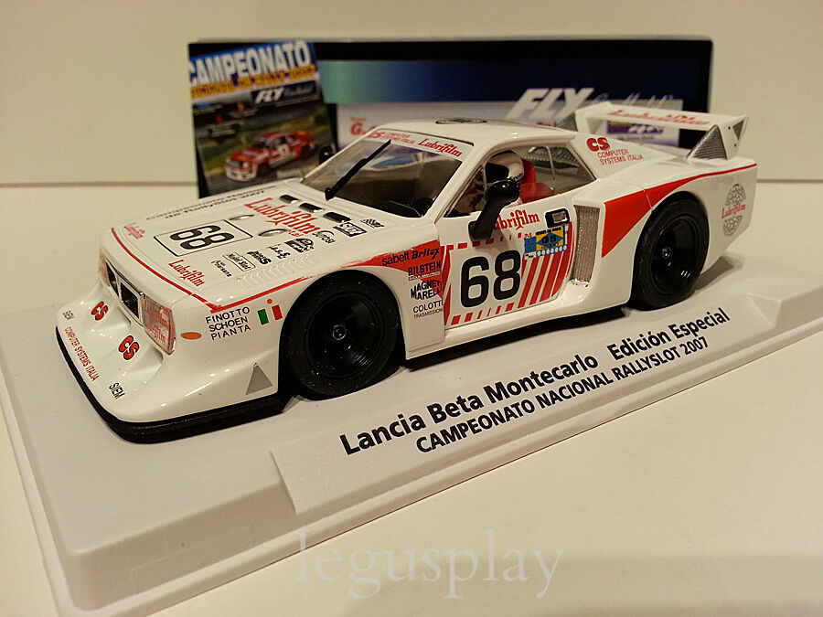 Slot car SCX Scalextric Fly 99094 Lancia Beta Montecarlo Edition Rallyslot 2007