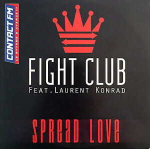 Fight-Club-Feat-Laurent-Konrad-CD-Single-Spread-Love-Europe-VG-VG